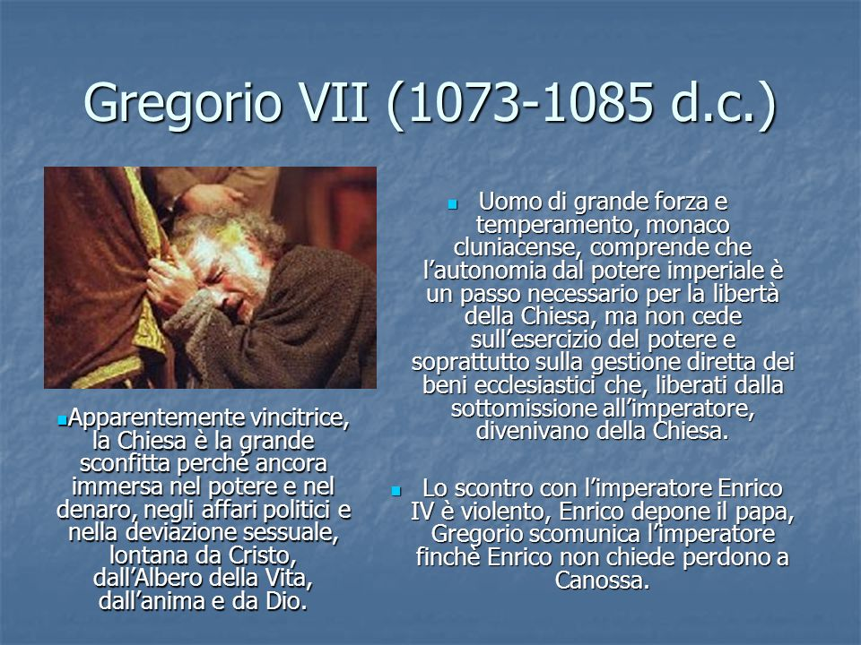 Gregorio VII (1073-1085 d.c.)