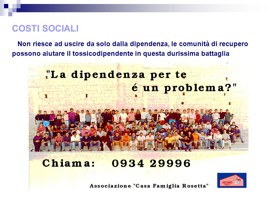 COSTI SOCIALI