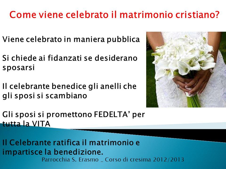 Parrocchia S. Erasmo _ Corso di cresima 2012/2013