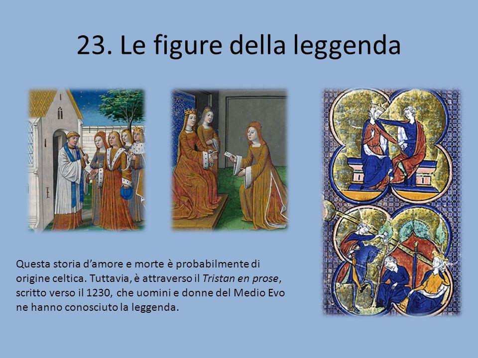 23. Le figure della leggenda