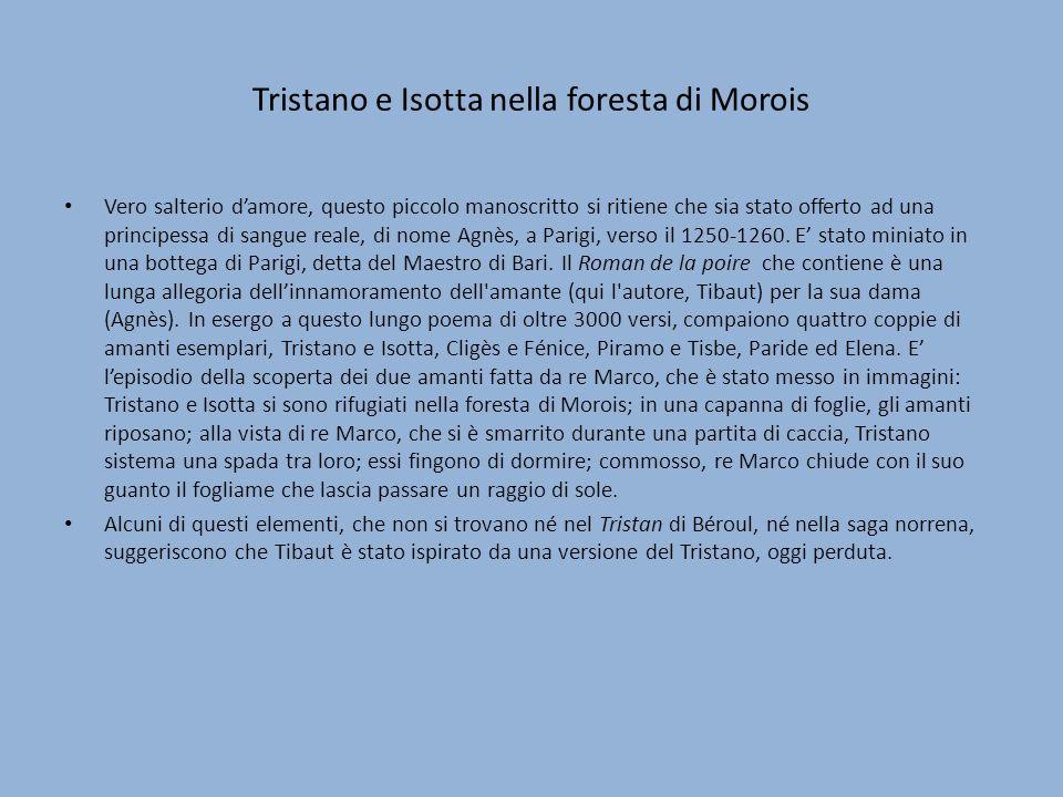 Tristano e Isotta nella foresta di Morois