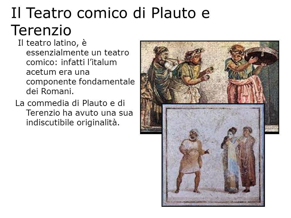 Il Teatro comico di Plauto e Terenzio