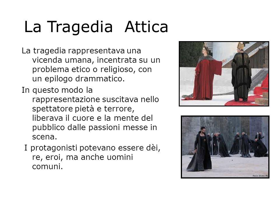 La Tragedia Attica