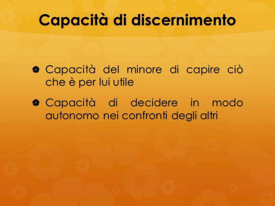 Capacità di discernimento