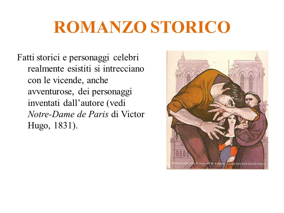 ROMANZO STORICO