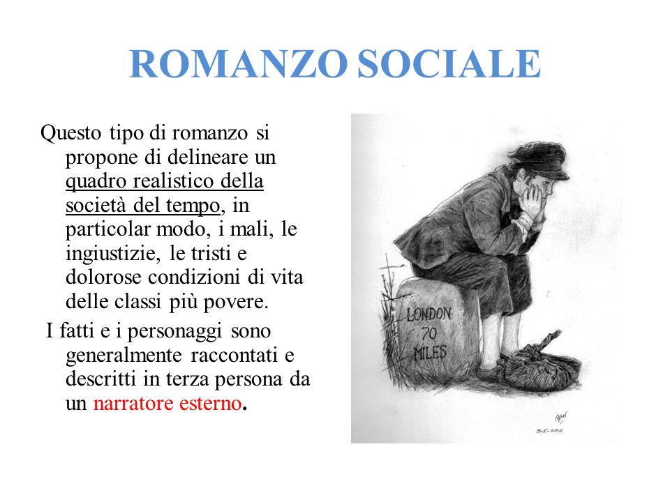 ROMANZO SOCIALE