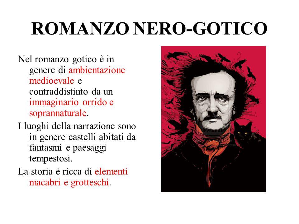 ROMANZO NERO-GOTICO