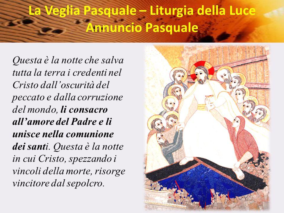 La Veglia Pasquale – Liturgia della Luce
