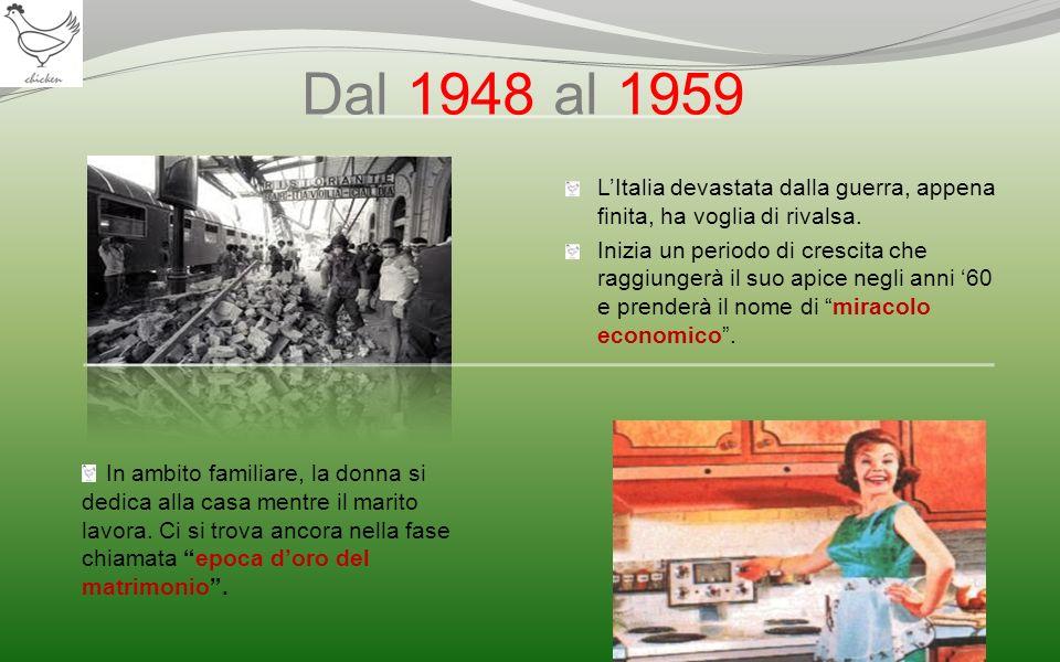 Dal 1948 al 1959