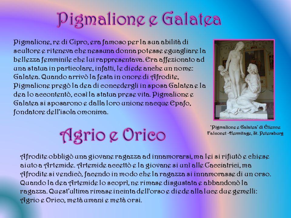 'Pigmalione e Galatea' di Étienne Falconet -Hermitage, St. Petersburg