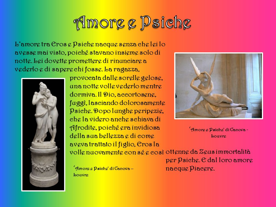 'Amore e Psiche' di Canova - Louvre