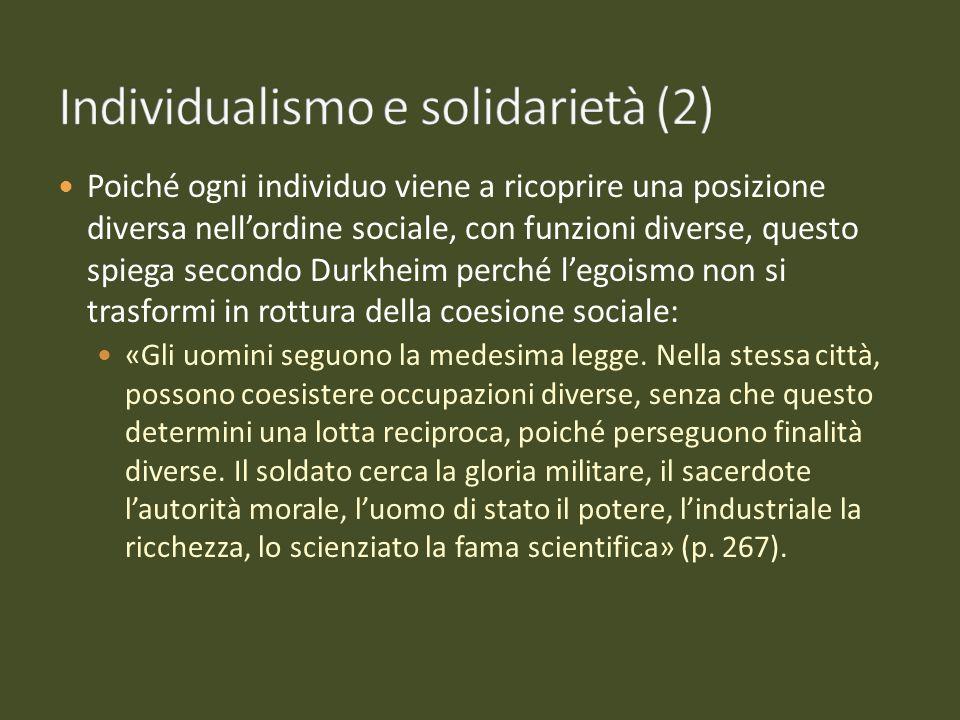 Individualismo e solidarietà (2)