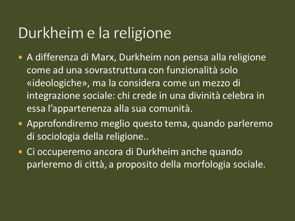 Durkheim e la religione