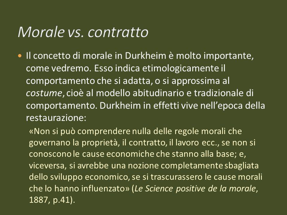 Morale vs. contratto