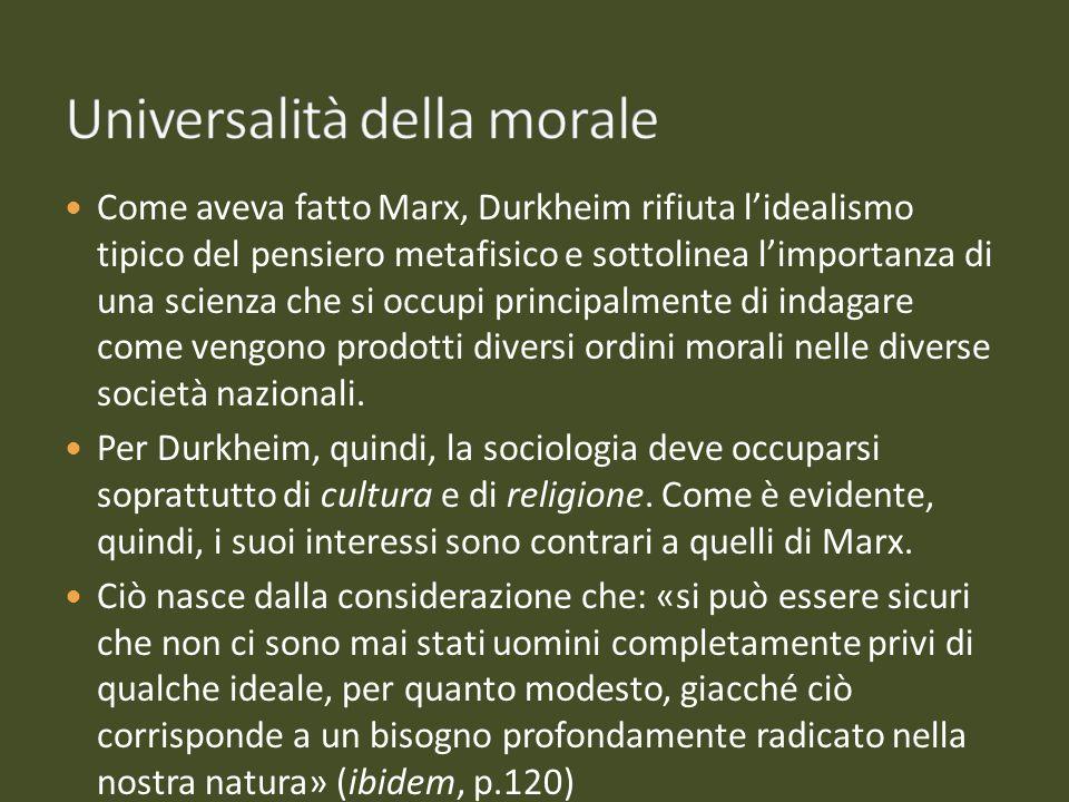 Universalità della morale