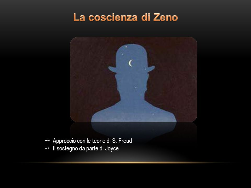La coscienza di Zeno Approccio con le teorie di S. Freud