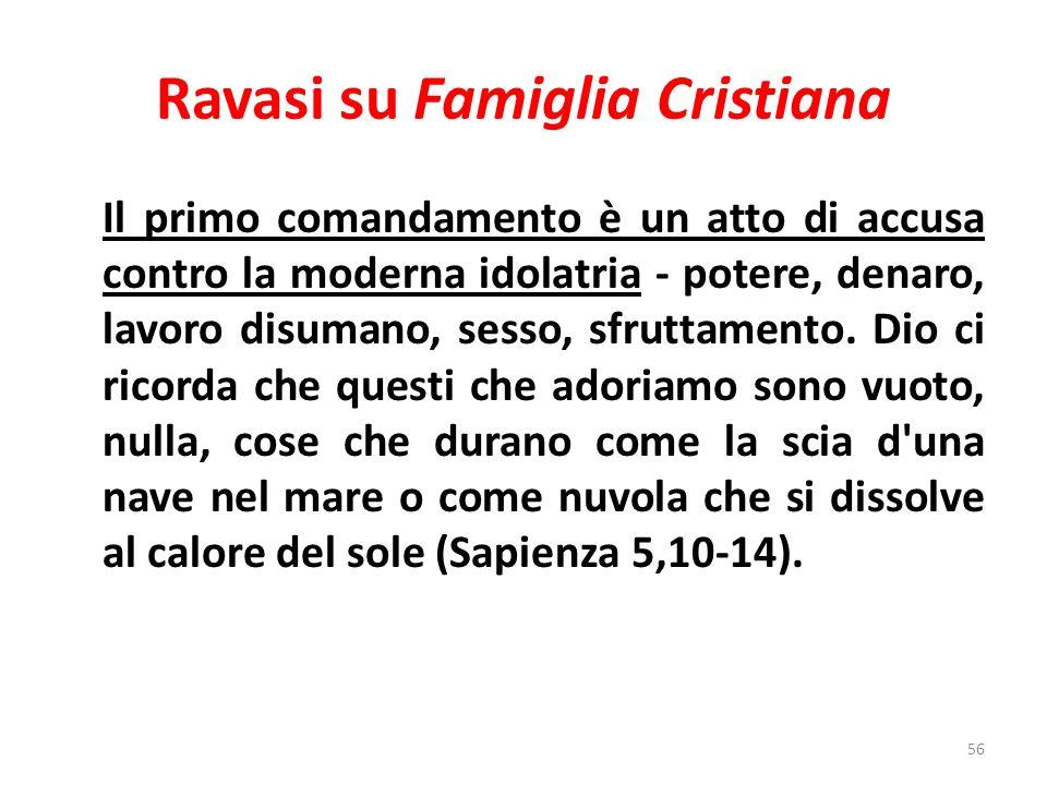 Ravasi su Famiglia Cristiana