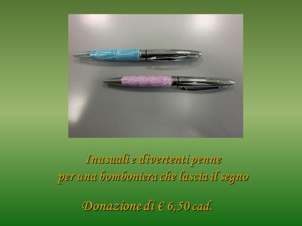Inusuali e divertenti penne per una bomboniera che lascia il segno