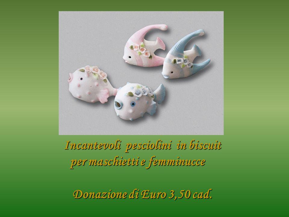 Incantevoli pesciolini in biscuit per maschietti e femminucce