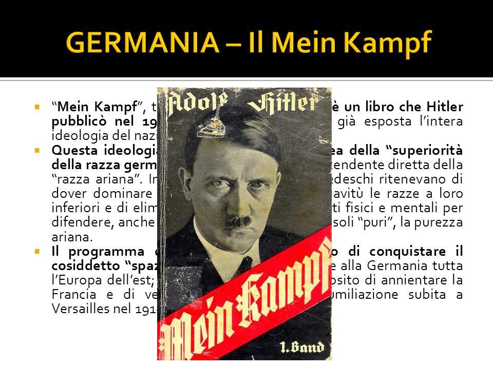 GERMANIA – Il Mein Kampf