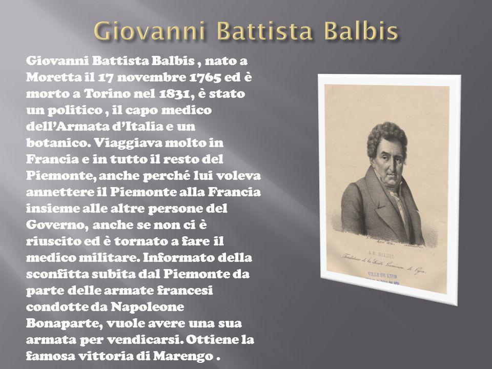 Giovanni Battista Balbis