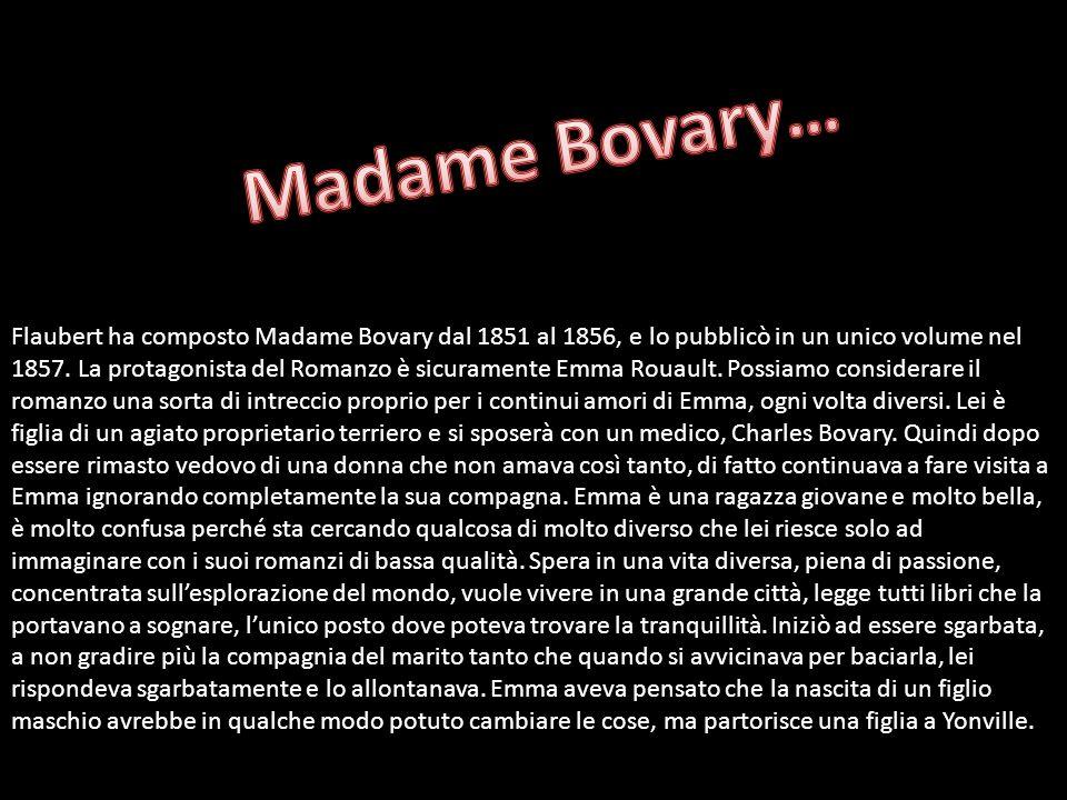 Madame Bovary…