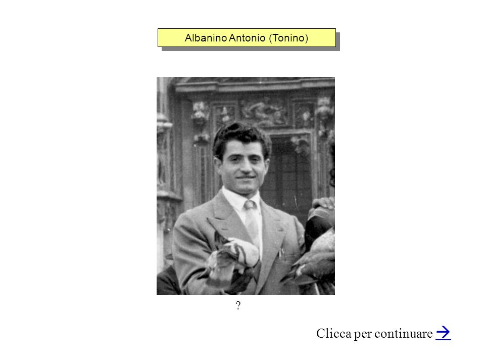 Albanino Antonio (Tonino)