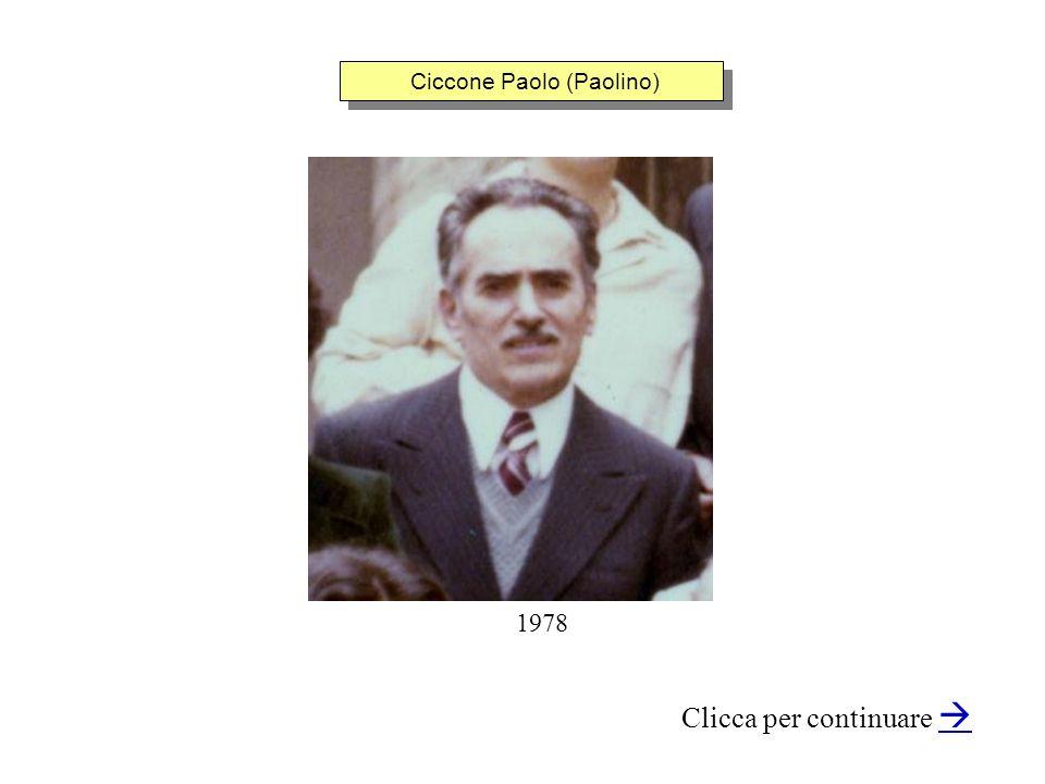 Ciccone Paolo (Paolino)