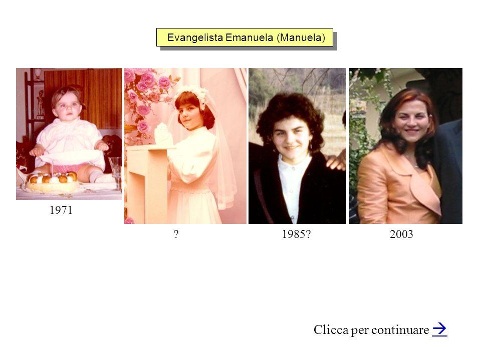 Evangelista Emanuela (Manuela)