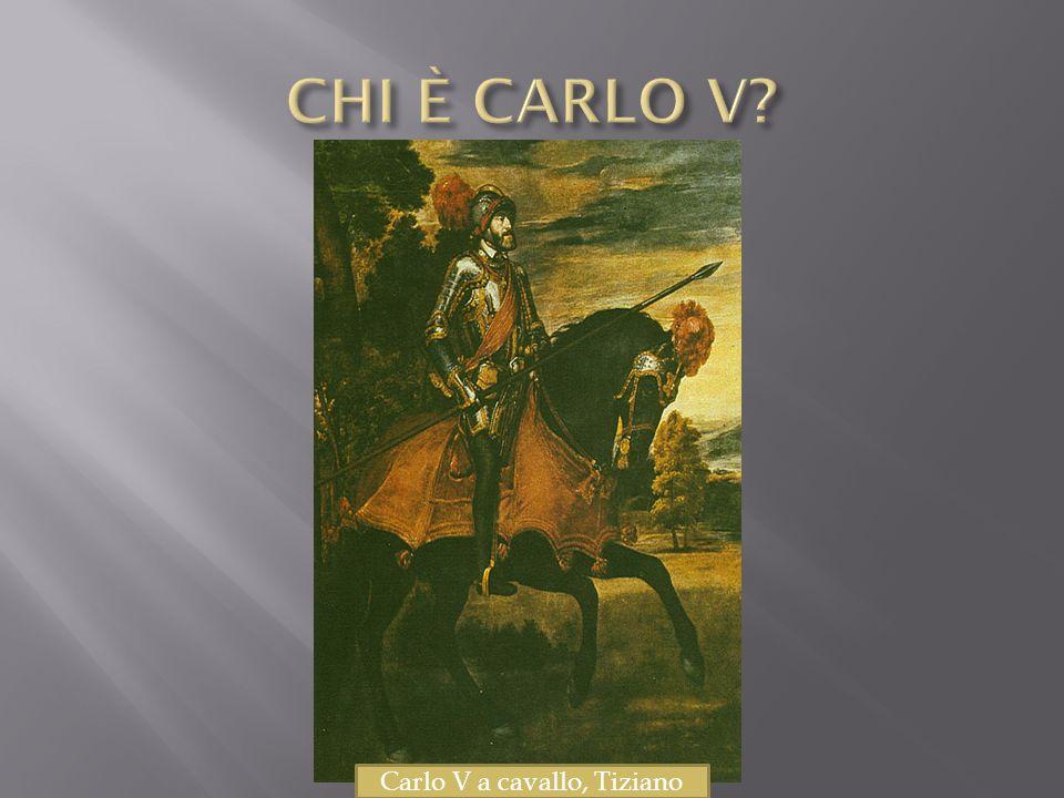 Carlo V a cavallo, Tiziano