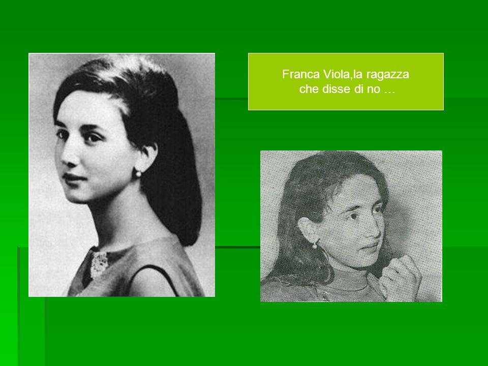 Franca Viola,la ragazza