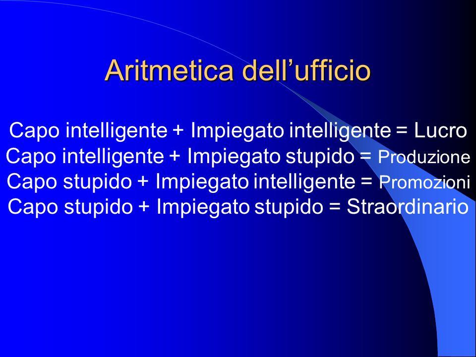 Aritmetica dell'ufficio