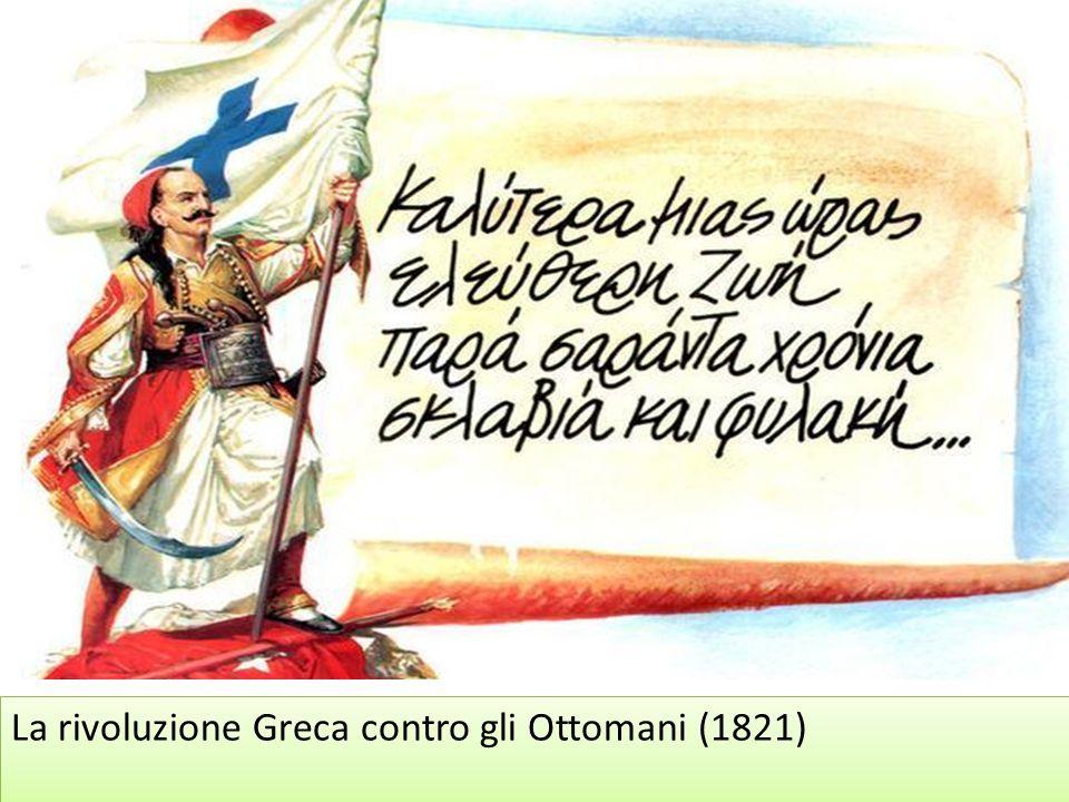 La rivoluzione Greca contro gli Ottomani (1821)