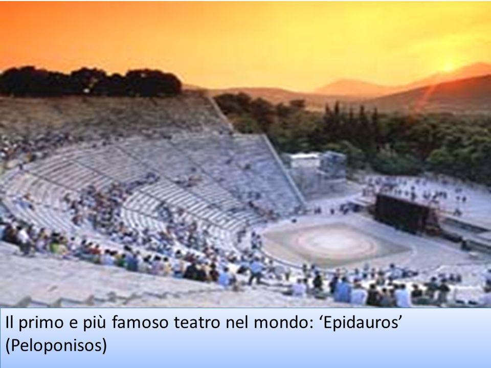 Il primo e più famoso teatro nel mondo: 'Epidauros' (Peloponisos)