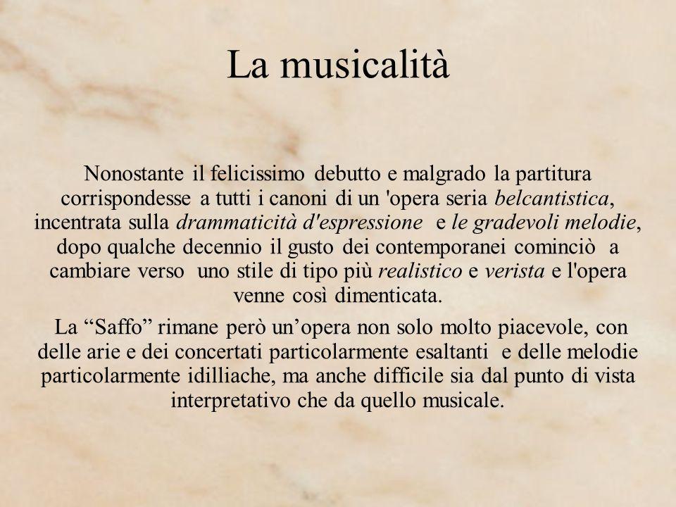 La musicalità