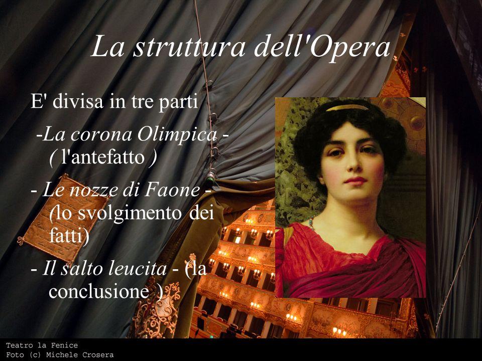 La struttura dell Opera
