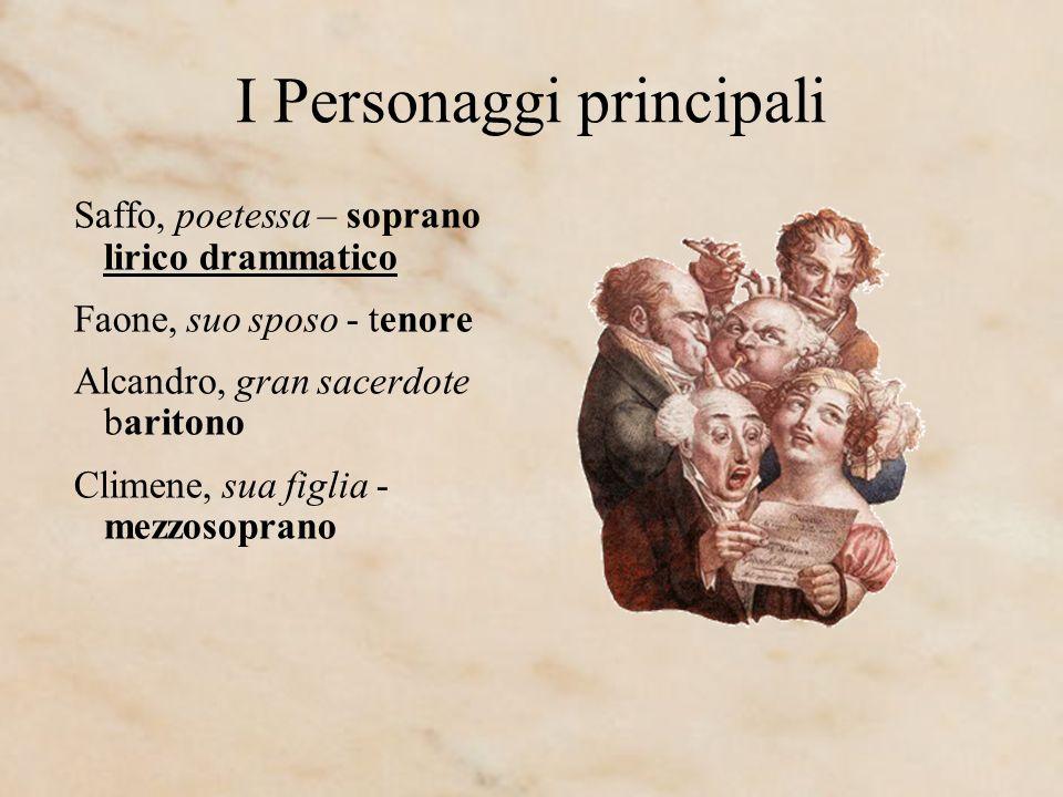 I Personaggi principali