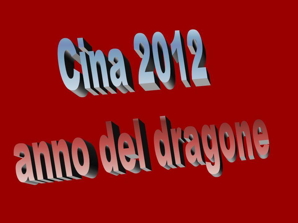 Cina 2012 anno del dragone