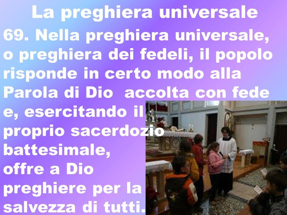 La preghiera universale