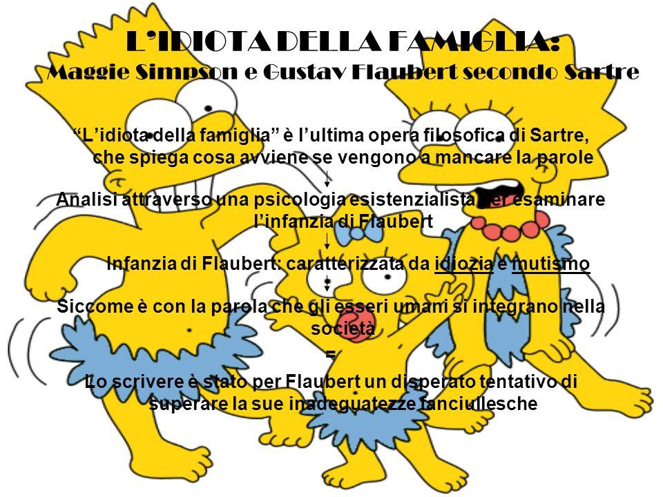 Infanzia di Flaubert: caratterizzata da idiozia e mutismo