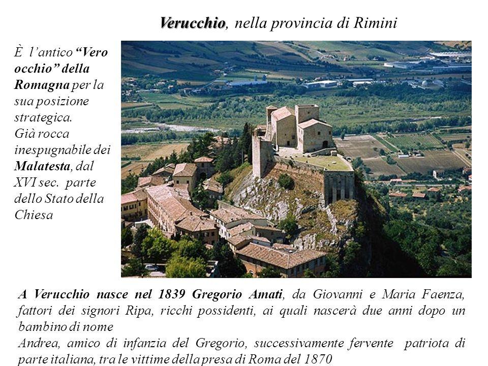 Verucchio, nella provincia di Rimini