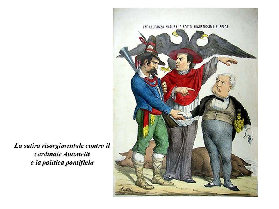 La satira risorgimentale contro il cardinale Antonelli