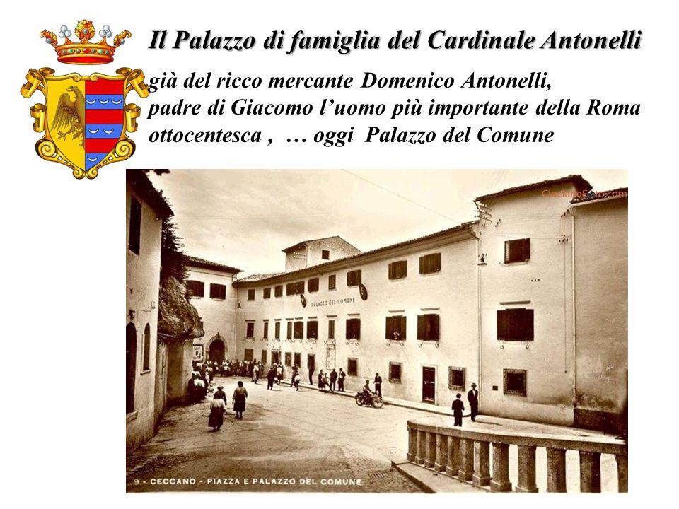 Il Palazzo di famiglia del Cardinale Antonelli