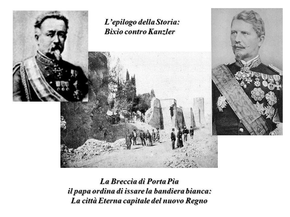 L'epilogo della Storia: Bixio contro Kanzler