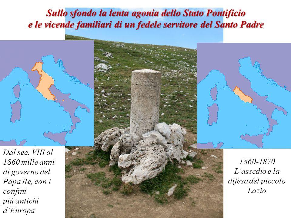L'assedio e la difesa del piccolo Lazio