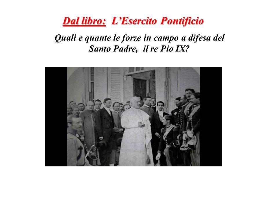 Dal libro: L'Esercito Pontificio