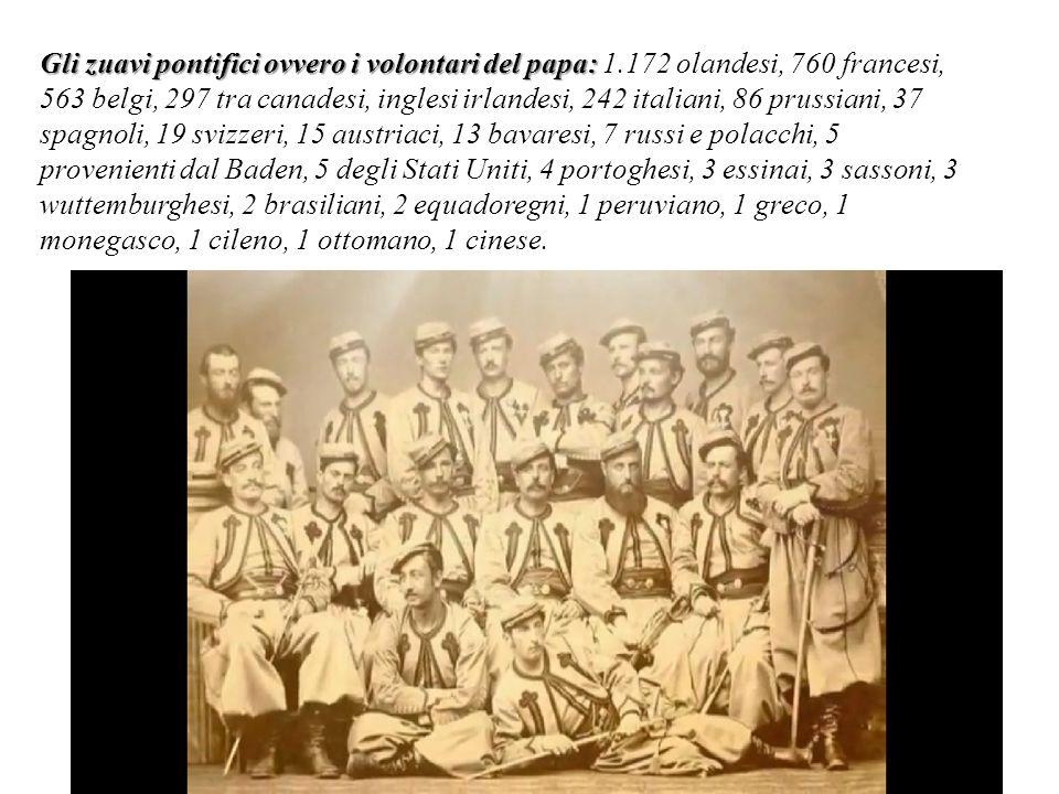 Gli zuavi pontifici ovvero i volontari del papa: 1