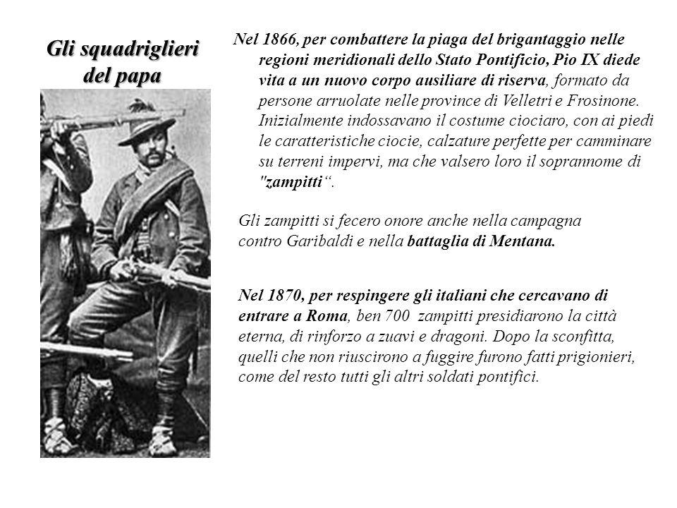 Gli squadriglieri del papa