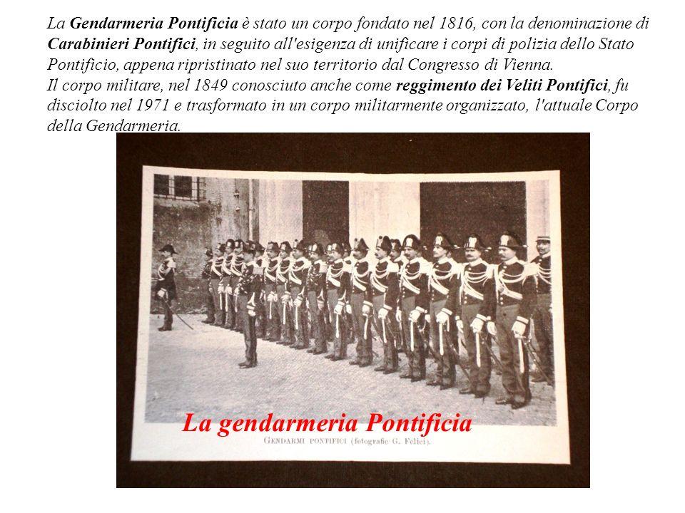 La gendarmeria Pontificia