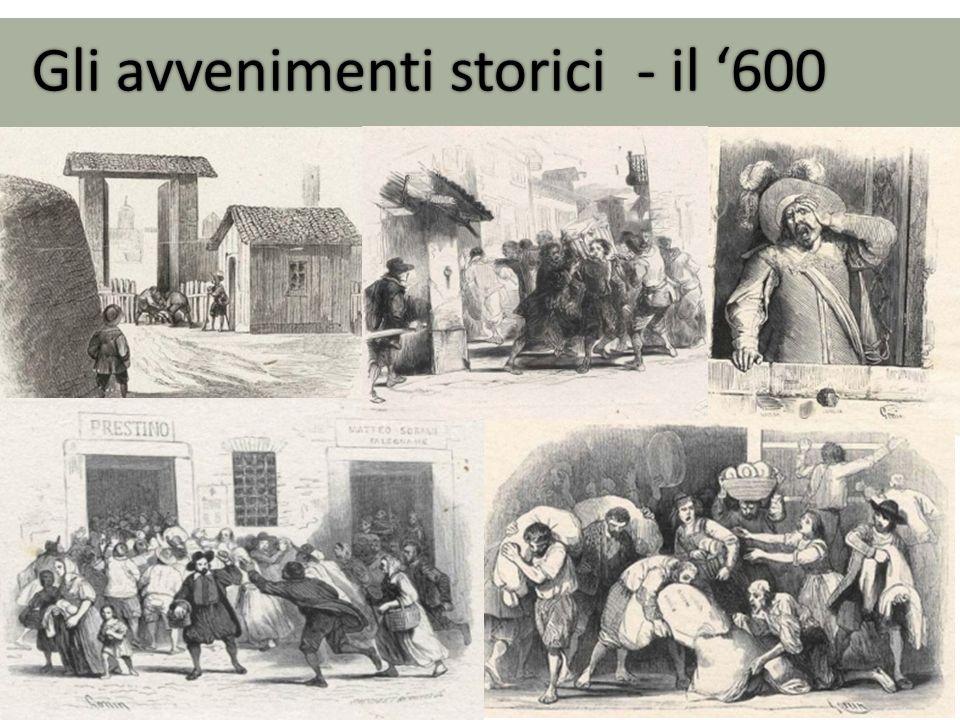Gli avvenimenti storici - il '600
